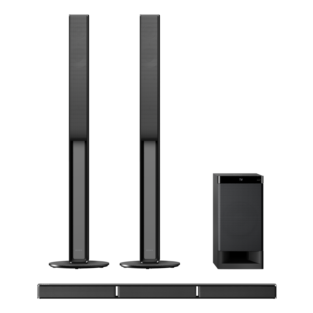 Bars For Home Home Theater: Sony HT-RT4 5.1ch Home Cinema Soundbar System