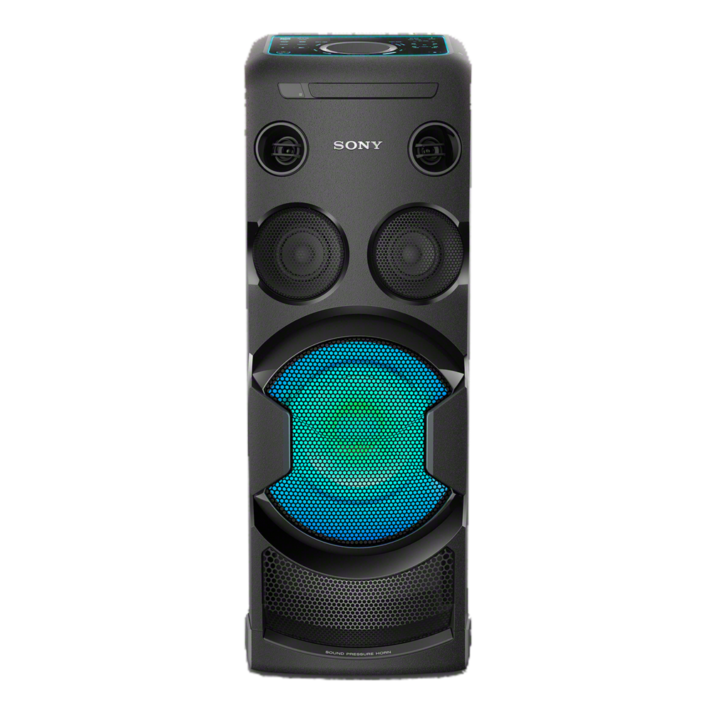 sony mhc v50d high power home audio system with bluetooth. Black Bedroom Furniture Sets. Home Design Ideas