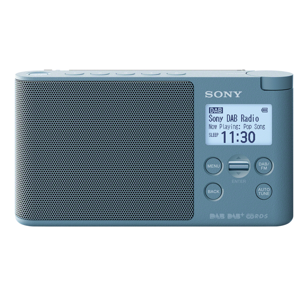 sony xdr s41d portable dab dab radio. Black Bedroom Furniture Sets. Home Design Ideas