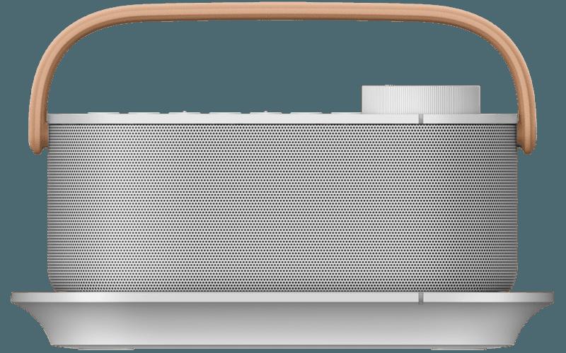 Front shot of SRS-LSR200 wireless handy TV speaker