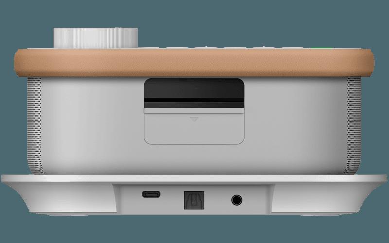 Rear shot of SRS-LSR200 wireless handy TV speaker