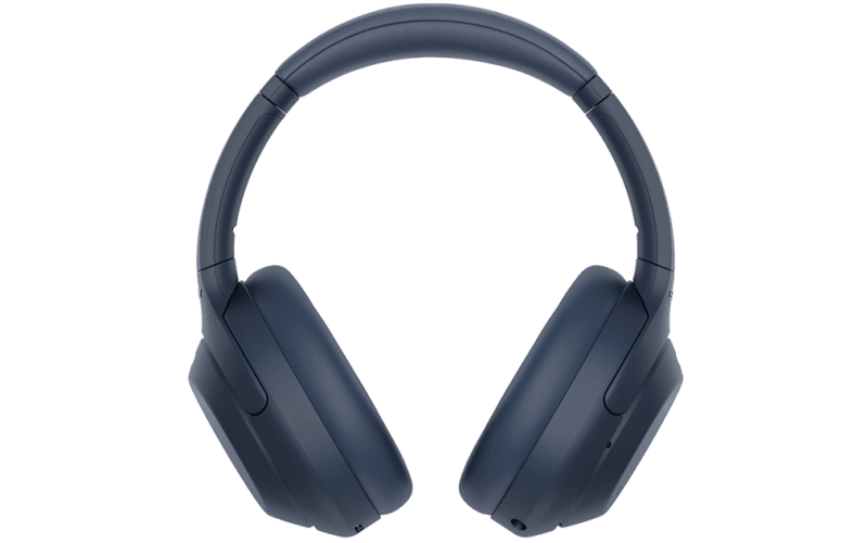 WH-1000XM4 headphones front view Midnight Blue