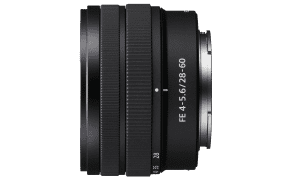 Sony Full Frame E-Mount Lens SEL2860 - The world's smallest & lightest full-frame E-mount standard zoom lens